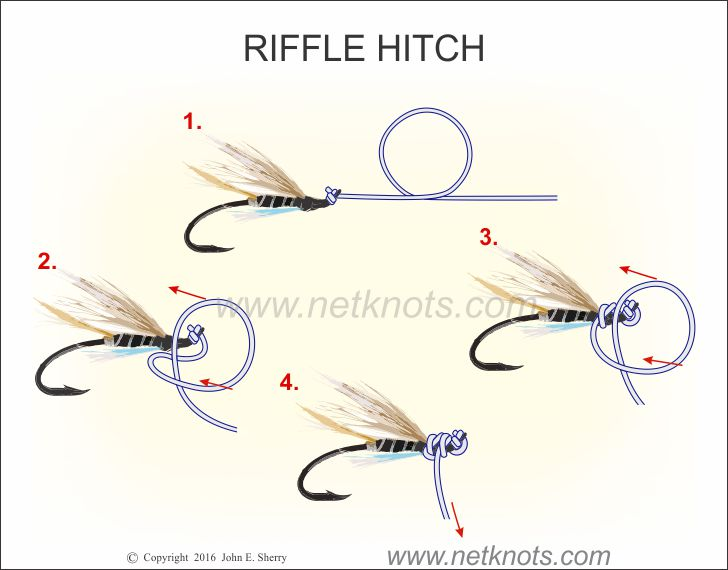 how to tie your leader to your fly line