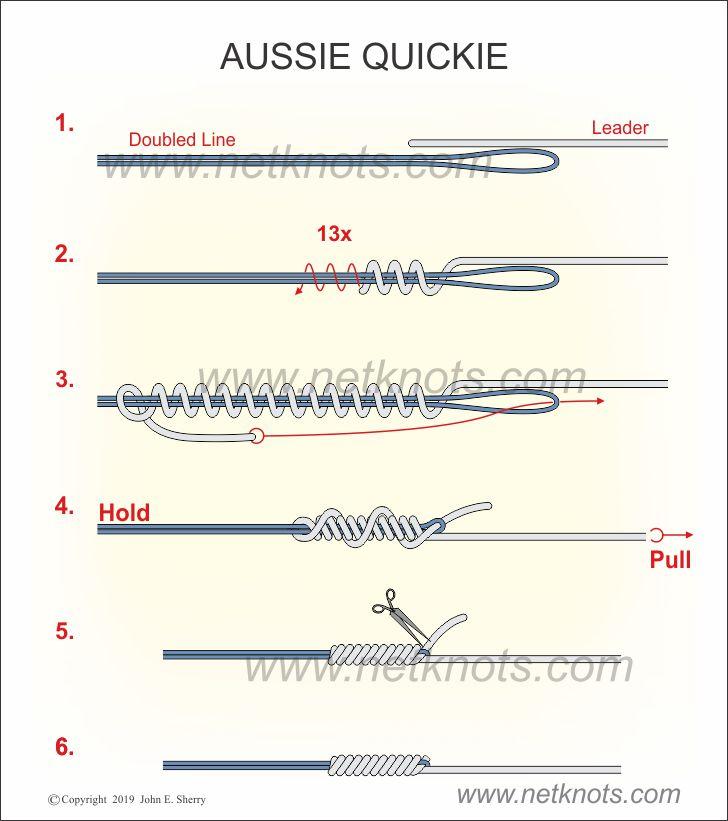 Aussie Quickie Knot