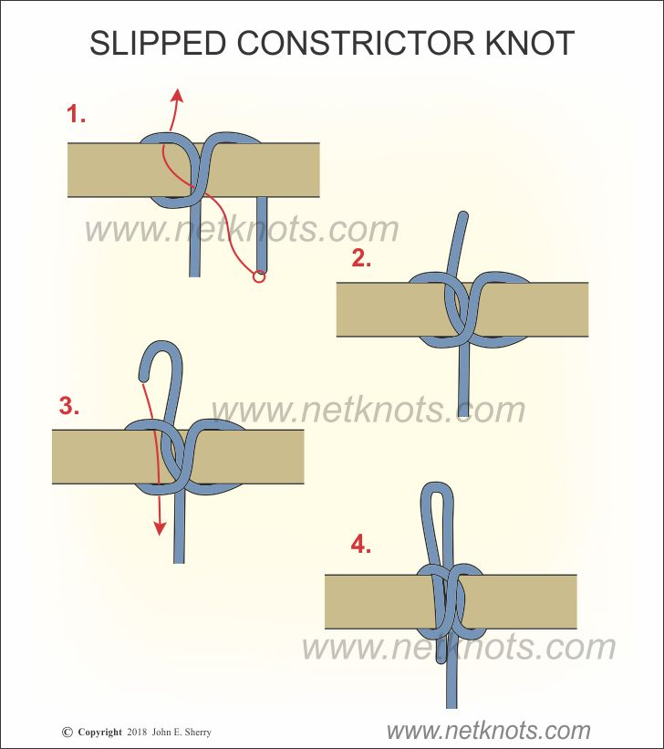 Slipped Constrictor Knot