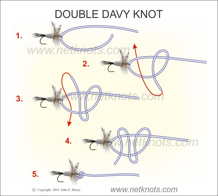 How tie the Double Davy Knot