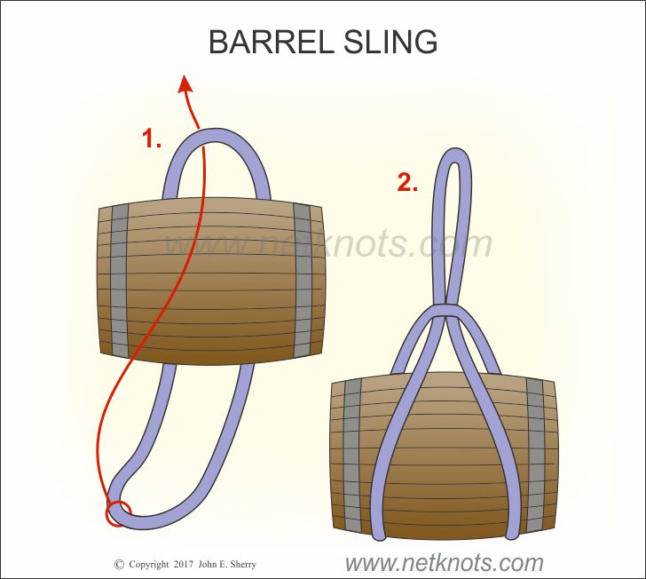Barrel Sling how to tie